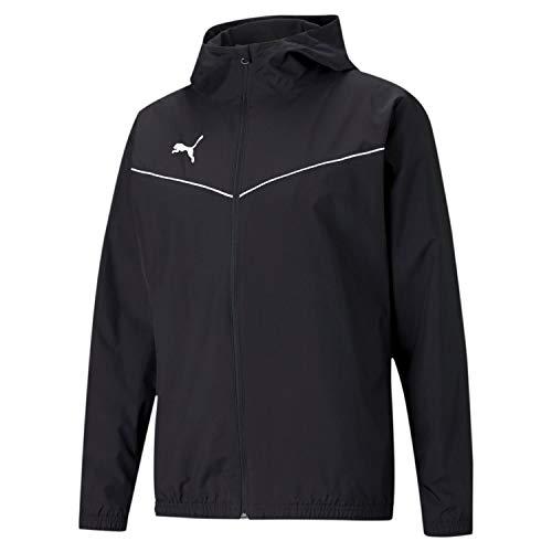 PUMA teamRISE All Weather Jacket, Puma Black-puma White, XL