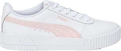 Puma Damen Carina L Niedrig, Weiß White-Rosewater-Rosewater, 38 EU