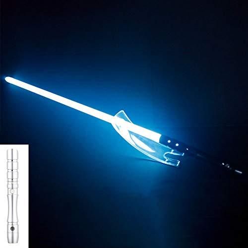 nobrand Lichtschwert Star Wars Lichtschwert Essstäbchen Lichtschwertklinge RGB-Lichtschwert mit variablem Licht und Soundeffekt Star Wars Lichtschwert mit Soundeffekten