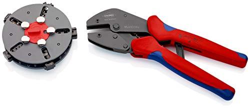 KNIPEX MultiCrimp Crimpzange mit Wechselmagazin (250 mm) 97 33 02