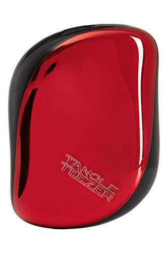 Tangle Teezer Compact, Preto/ Vermelho