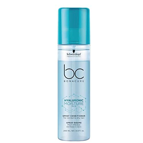 Schwarzkopf Professional BONACURE Hyaluronic Moisture Kick Spray Conditioner, 200 ml