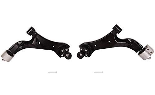 Bapmic Front Left 20945779 + 20945780 Right Lower Control Arm Kit w/Ball Joint Compatible with 2010-2017 Chevrolet Equinox 2010-2017 GMC Terrain