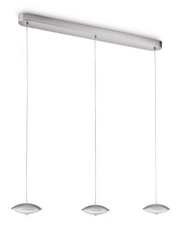 Philips 409611716 Manzoni Suspension LED 6 Lampes Métal Métallique