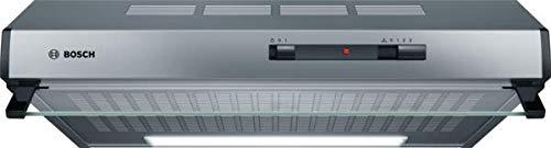 Bosch DUL62FA51 Serie 2 Unterbauhaube / D / 60 cm / Edelstahl / wahlweise Umluft- oder Abluftbetrieb / Schiebeschalter / Intensivstufe / Vliesfilter
