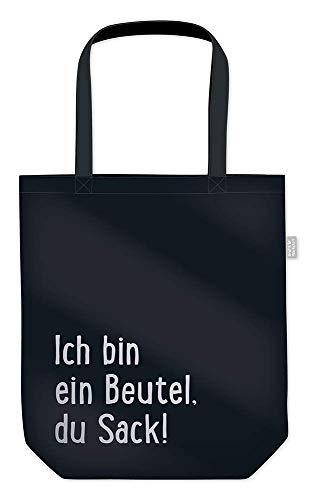 Grafik Werkstatt Einkaufstasche mit lustigem Spruch Shopping-Bag faltbar   leichte Tasche   Beutel