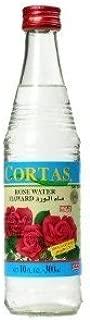 Rose Water, Cortas, 10 fl oz (Case of 24) by Cortas