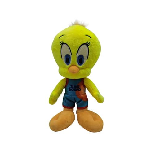 Sp. J. Legacy Plushie Tweety Bird Plush Figures Cute Cartoon Stuffed Plush Classic Anime Character Doll Give to Animated Film Fans