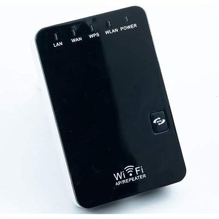 Mini repetidor WiFi Wonect 3 Extensor de señal IEEE 802.11n Red Router Repetidor largo alcance interior