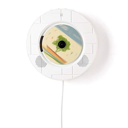 Reproductor de CD portátil Bluetooth Soporte de pared Reproductor de CD Mini reproductor de DVD Prenatal Máquina Soporte DVD / CD / mp3 / U Disco / CD Disco Transcripción U Disco Reproductores de CD R