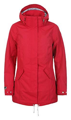 Icepeak Damen EP PHARSALIA Parka, klassisch rot, 50 (Herstellergröße: 50)