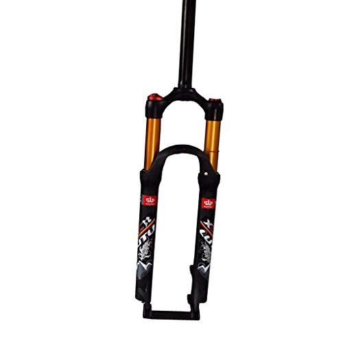 ZNND 26inch Mountain Bike Forcella Ammortizzata, 1-1/8' Leggero Lega di Alluminio MTB Ciclismo Spalla Controllo Viaggio: 100mm (Colore : A, Dimensioni : 26inch)