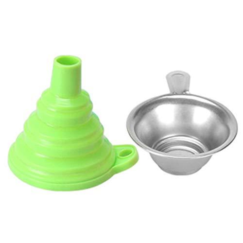 SZYZ Materiali di consumo fotopolimerizzabili 3D Combinazione di imbuti filtranti Accessori per stampanti 3D Verde