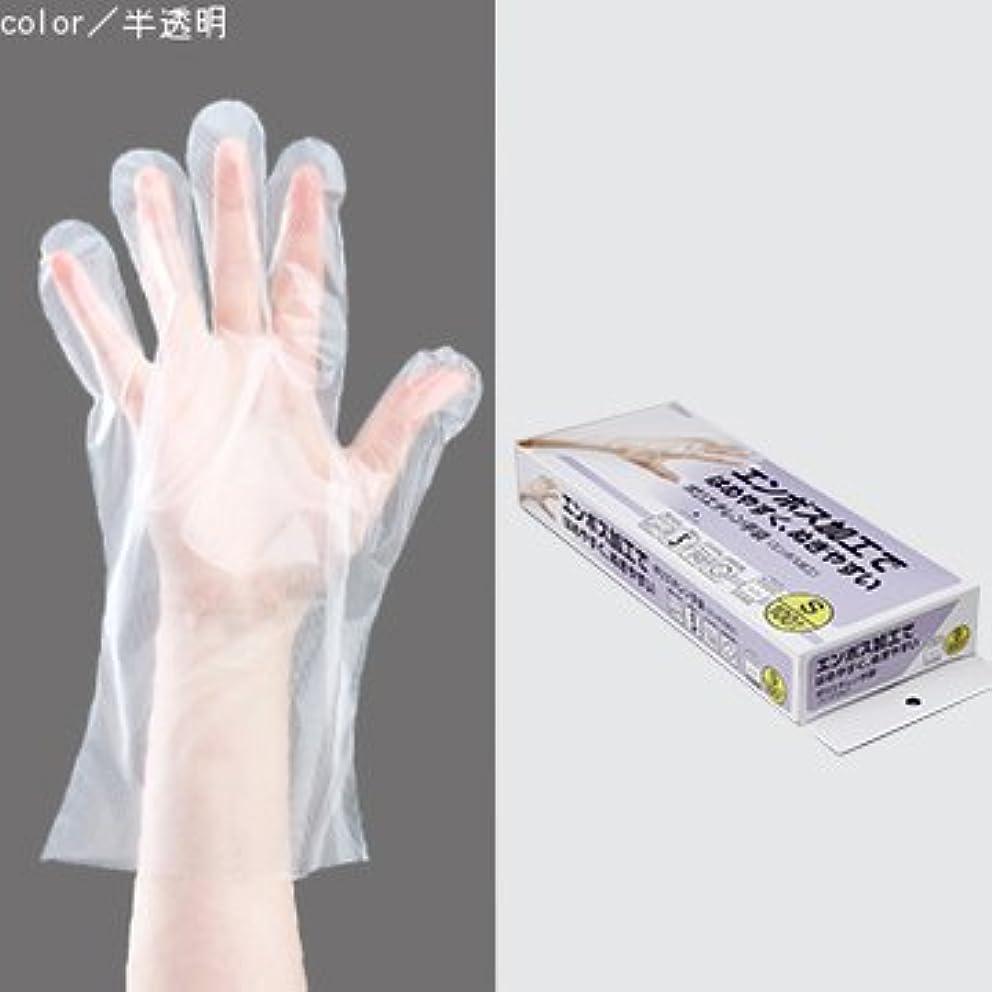 クレタ債務戦士ポリエチレン手袋 100枚入 (S)
