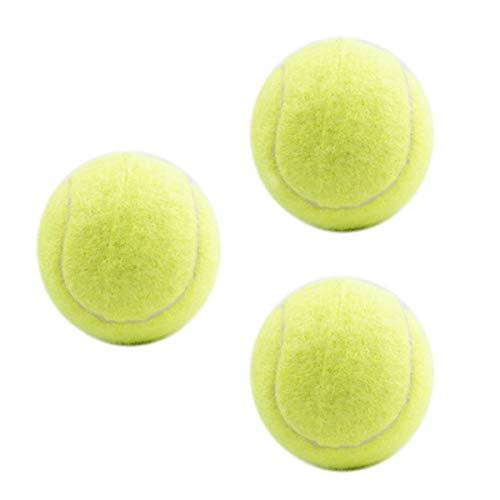 Tennisbälle, 3 Stück Training Sport Play Cricket Hundespielzeug Wurfmaschinen & Spielen mit Haustieren