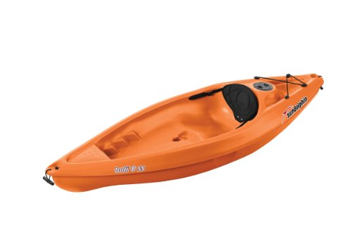 SUNDOLPHIN Sun Dolphin Bali SS Sit-on top Kayak (Tangerine, 8-Feet)