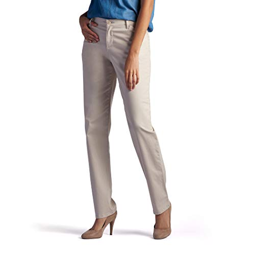 LEE Women's Relaxed Fit All Day Straight Leg Pant, 18 Short,...