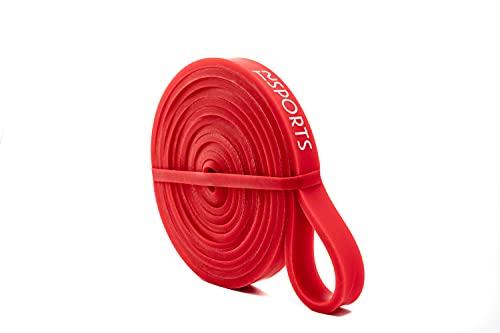 TSSPORTS Premium Fitness Resistance Bands | Widerstandsbänder + Travelbag | Kraft Training, Fitness & Mobility | Extra rutschfest