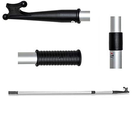 Telescopic Aluminium Boat Hook Expands from 138cm to 243