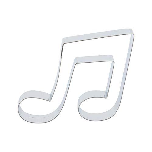 Cuttersweet - 1 Molde para Galletas, diseño de Notas Musicales