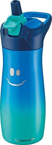 Maped 871303 Concept Kids Edelstahl-Trinkflasche KIDS-580 ml-blau, 580 ml
