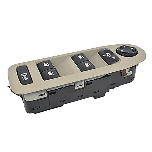 GLLXPZ Interruptor de La Botonera Elevalunas,para Peugeot 308508 C5,Electrónico Panel Interruptor de Botón