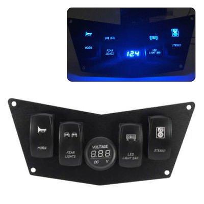 Dash Panel 4 Switch Compatible avec pour Polaris Ranger RZR 800S 900 x P XP900 570 moteurs supplémentaire