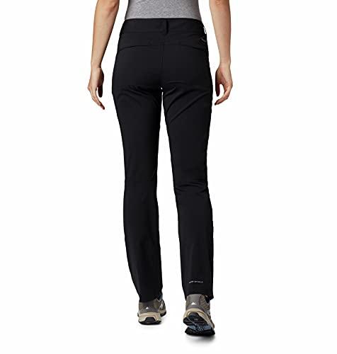 Columbia Women's Standard Saturday Trail Stretch Pant, Black, 10