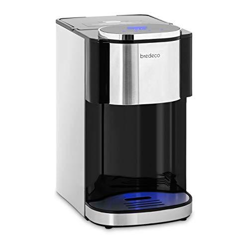 bredeco BCWD-4L Heißwasserspender 4 Liter LED Display Filterkartusche 3 Portionsgrößen bis 100 °C Wasserspender Heißwassergerät Wasserspender Thermo Pot Wasserkocher