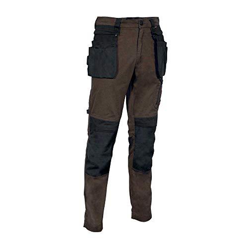 COFRA V568-0-03.Z54 KUDUS Multipocket Hose, Schlamm/Schwarz, Größe 54