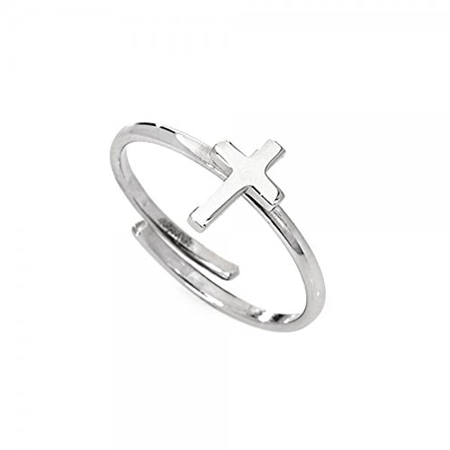 anello donna gioielli Amen Croce trendy cod. AFCB