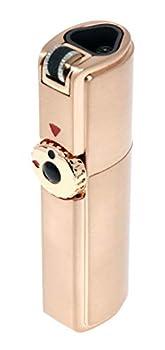 Scorch Torch Skyline Triple Jet Flame Butane Torch Cigarette Cigar Lighter with Cigar Punch Cutter Tool  Rose Gold