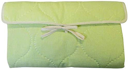 🇫🇷 Tapis à langer, tapis de change bébé - matelas de voyage pliant nomade (vert) Fabrication entièrement française