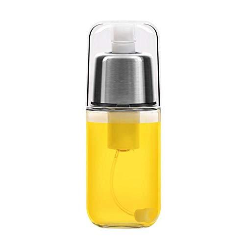ZPPZ Dispensador de Rociador de Aceite de Oliva, Pulverizador Spray Oliva Aceite Pulverizador de Aceite,Rociador de Condimentos,Botella de Vidrio de Aceite de Oliva para Cocinar, Barbacoa