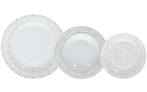 Tognana Sand - Servicio de platos de porcelana