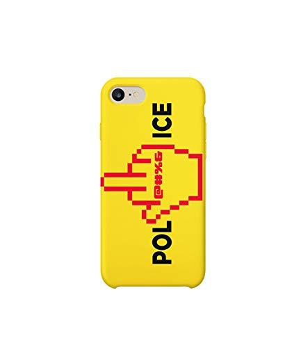 Rap Police_MRZ0265 - Funda protectora de plástico duro para teléfono inteligente, diseño divertido para iPhone 6 Plus