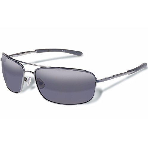Gargoyles Barricade Performance Sunglasses, Matte Gun Frame/Smoke Lens