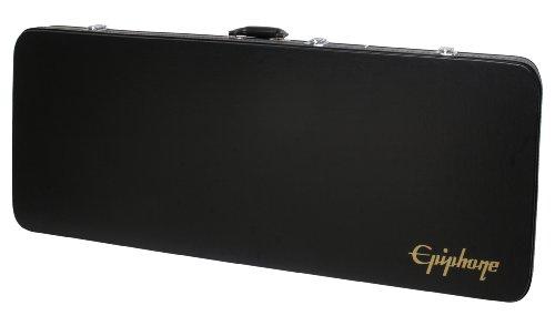 Epiphone Firebird Hard Case - Caja rígida para guitarra, color negro