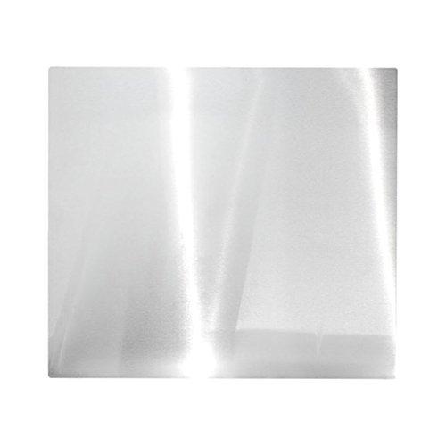 WENKO Protección de pared acero inoxidable, Acero inox, Mate, 56 x 47 cm