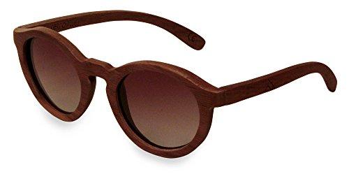retrostiel Holz Sonnenbrille Sweetheart Nut