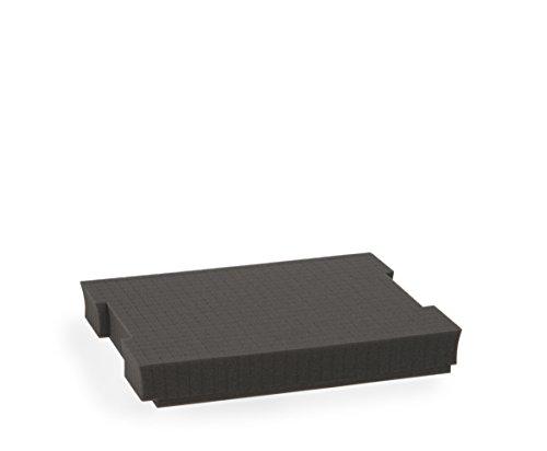 Sortimentskasten Einsätze | Bosch Sortimo L-BOXX 102 Rasterschaumstoff Einlage | Erstklassige Sortierboxen für Kleinteile | Werkzeugkoffer Einsatz