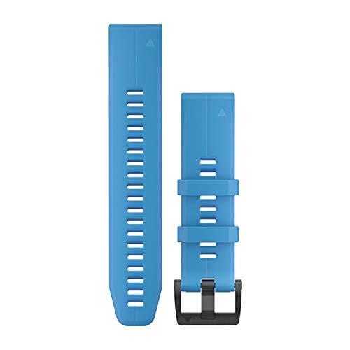Garmin Quickfit - Correa de reloj con ventilación de titanio gris carbono
