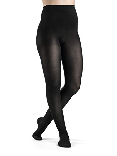 SIGVARIS Women's Style Soft Opaque 840 Closed Toe Pantyhose 15-20mmHg