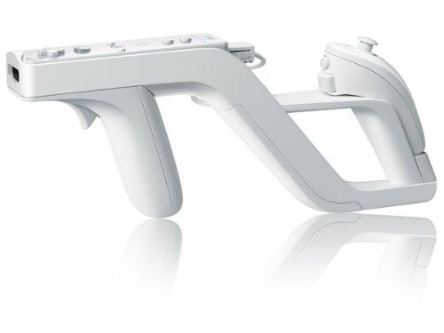 Zapper Gun Pistole Light Gun für NINTENDO Wii Remote & Nunchuk