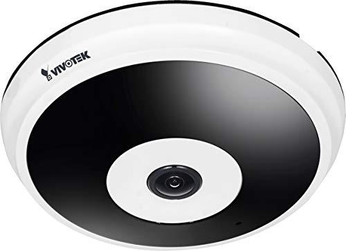 VIVOTEK fe8181Día/Noche Cámara de Red Fisheye la Serie Supreme con resolución de 5Mpx, IR LED de visión hasta 10m, PoE y 360°/180° para Interiores