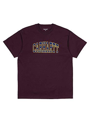 Carhartt Camiseta Theory Granate Hombre