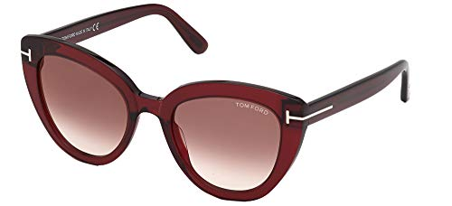 Gafas de Sol Tom Ford IZZI FT 0845 Shiny Red/Brown 53/21/140 mujer