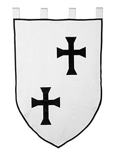 Supreme Products Mittelalterliche Flagge - Banner der Deutschen Ordensritter