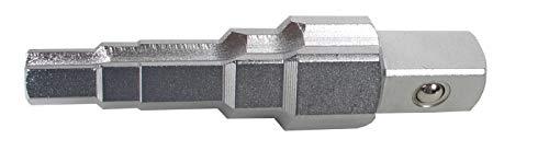 BGS 1461 trapsleutel aandrijving buitenvierkant 12,5 mm (1/2 inch) 5-traps CV-staal radiatorsleutel sanitaire sleutel