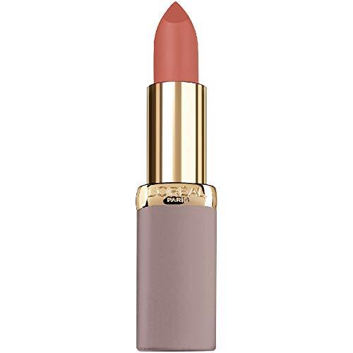 L'Oréal Paris Rossetto Lunga Durata Color Riche Free the Nudes, Non Secca le Labbra, Comfort a Lungo sulle Labbra, 02 No Cliche, Confezione da 1
